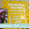 Subway Art Magnet Board