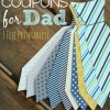 Father's Day Coupon Printables