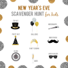 New Year's Eve Scavenger Hunt for Kids