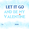 Frozen Valentine's Day Cards