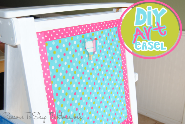 DIY art easel