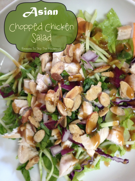 asian-chopped-chicken-salad-Reasons-To-Skip-The-Housework