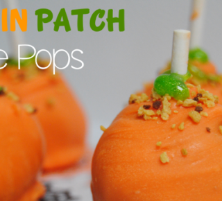 pumpkin patch cake pops {Reasons To Skip The Housework}