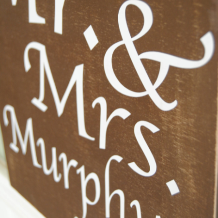 wedding sign {Reasons To Skip The Housework}
