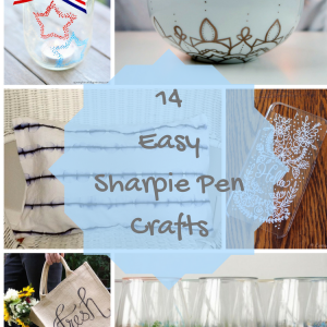 14 Easy Sharpie Pen Crafts