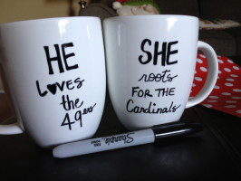 Sharpie Mugs {Reasons To Skip The Housework}