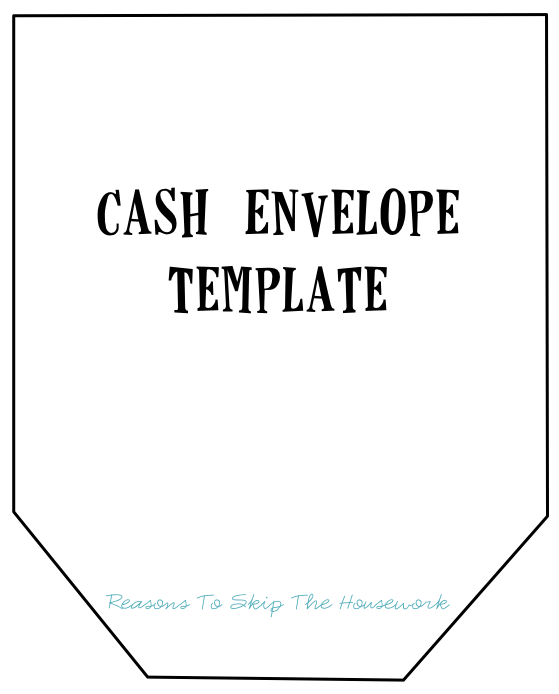 Fabric Budgeting Cash Envelopes - Reasons To Skip The Housework
