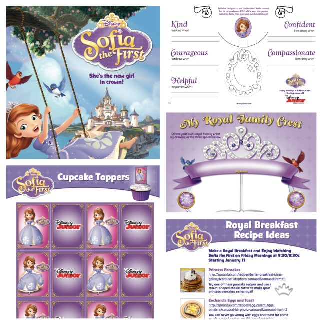Sophia The First - Disney Printables