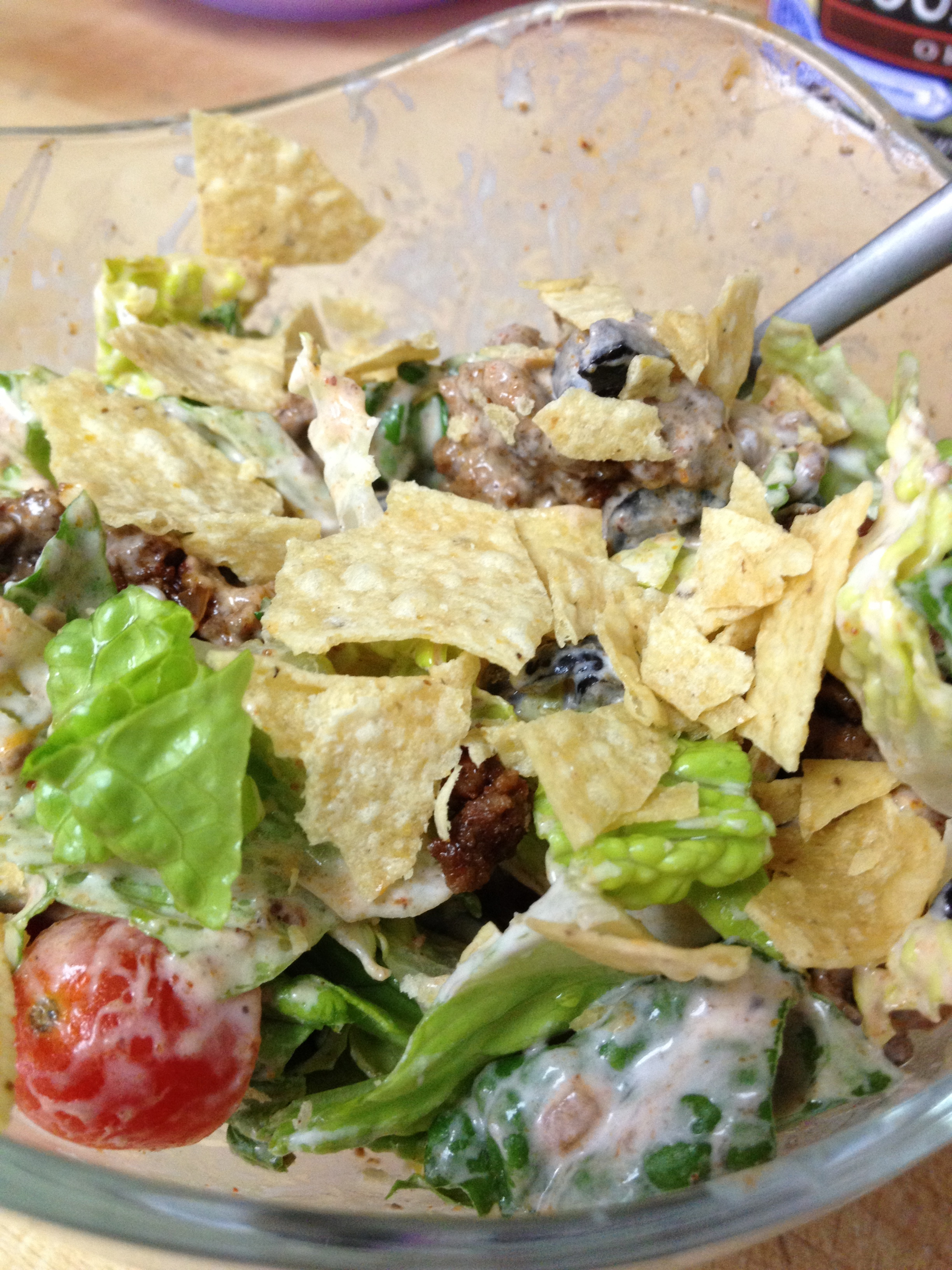 Taco Salad {Reasons To Skip The Housework}