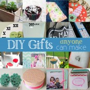DIY gifts roundup