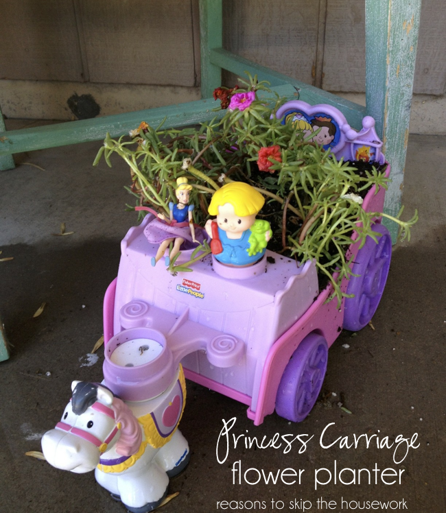 princess flower planter