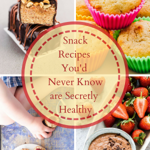 Snack Recipes You'd Never Know are Secretly Healthy