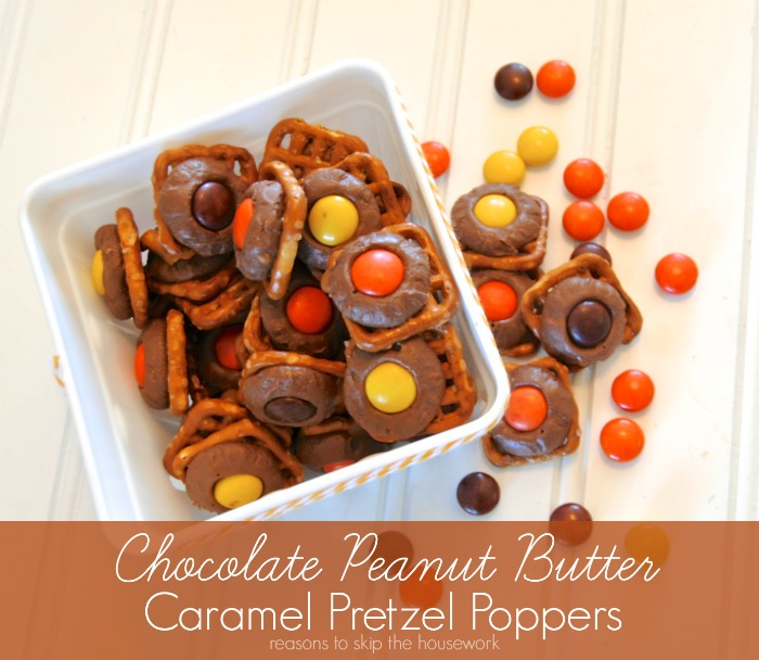 Cocolate PB Caramel Poppers