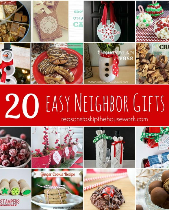 20 neighbor gifts reasons to skip the housework for Great gifts for neighbors on the holiday
