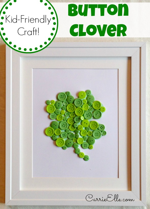 Button-Clover-Craft