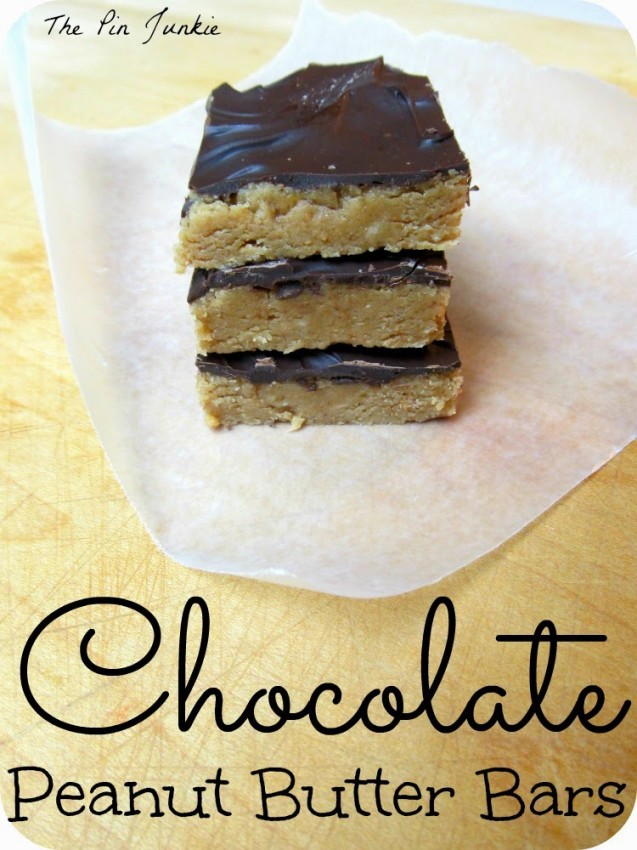 chocolate peanut butter bars 3