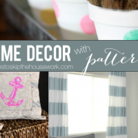 home decor in patterns