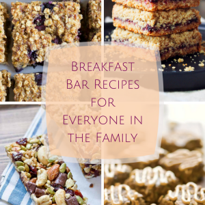 Breakfast Bar Recipes for Everyone in the Family