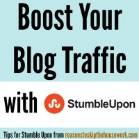 Boost Your Blog Traffic With Stumble Upon