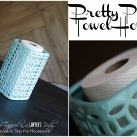 Paper Towel Holder feature 2