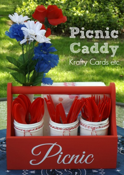 Picnic Caddy Cover