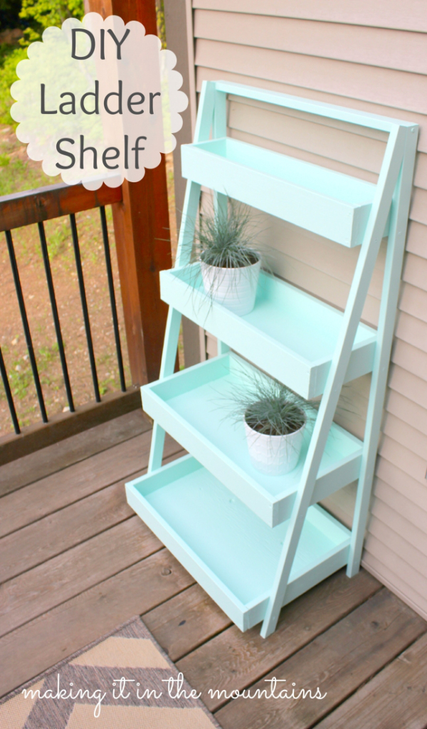 11DIY-Ladder-Shelf-@-making-it-in-the-mountains-2