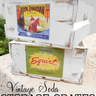 Vintage Soda Crates Finished Titled
