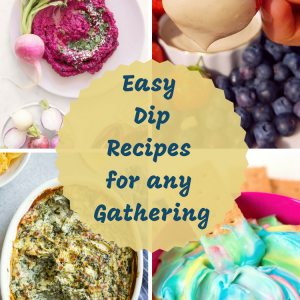 Easy Dip Recipes for any Gathering