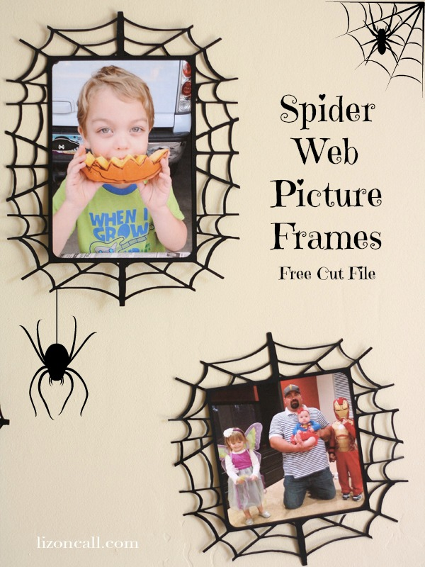 Spider Web Frame, free cut file