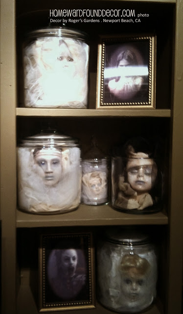 Creepy halloween decor reasons to skip the housework for Haunted bathroom ideas