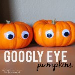 googly eye pumpkins
