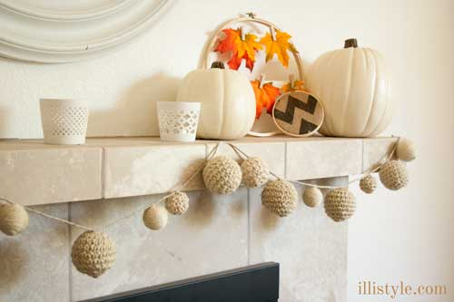 Fall-Natuical-Mantel-with-Garland-Tutorial