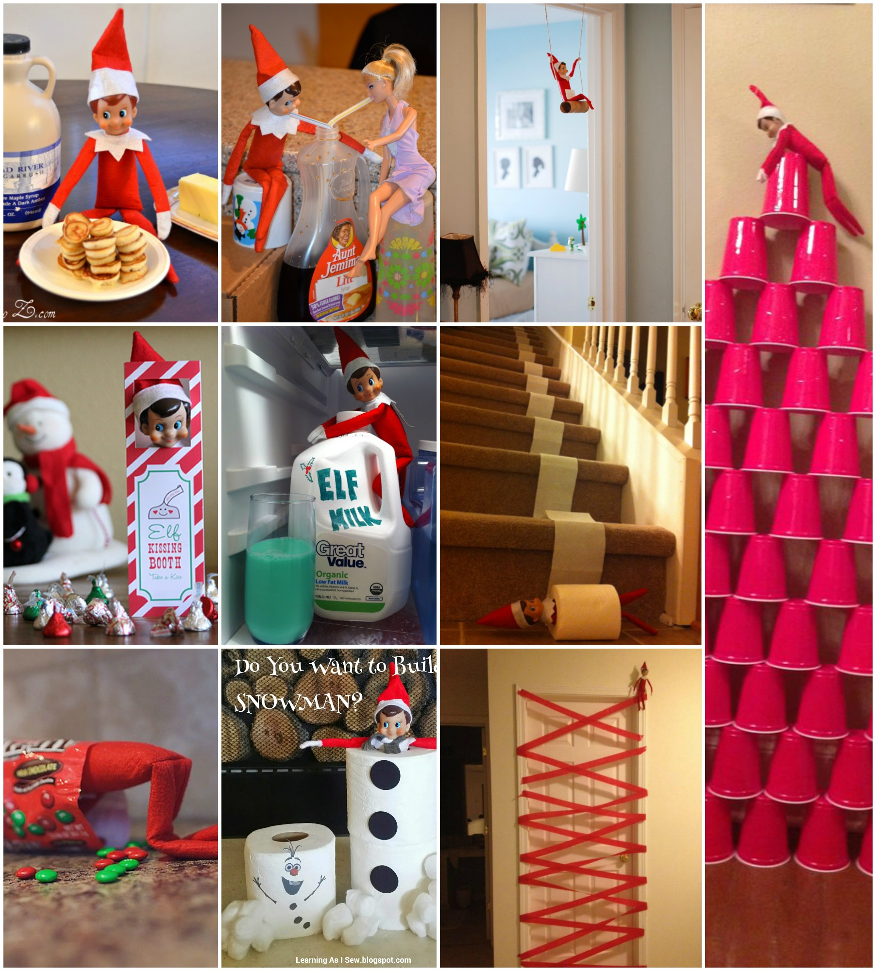 elf on the shelf ideas 2