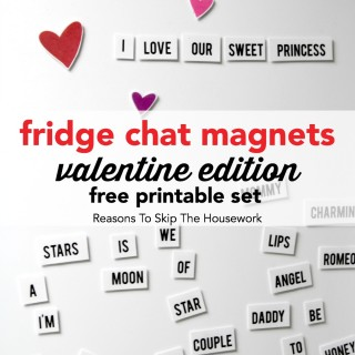 fridge chat magnets vday