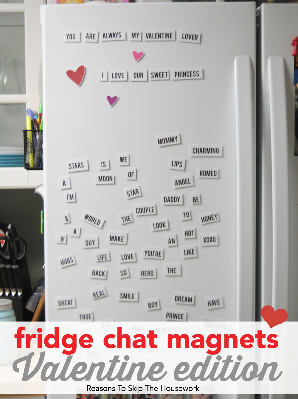 fridge chat magnets