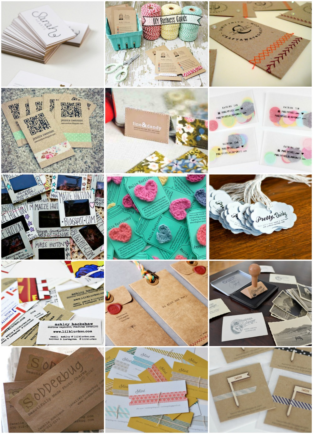 Fun Business Cards You Can Make Yourself REASONS TO SKIP