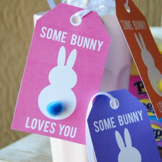 free printable some bunny loves you 2