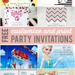 customizable invitations