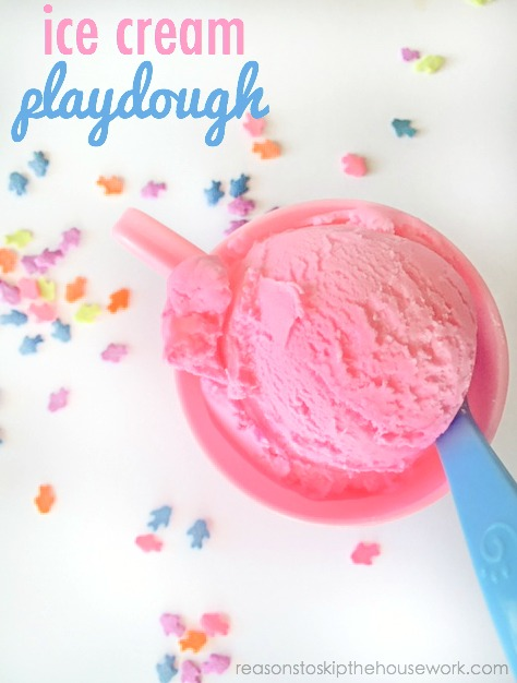 ice cream play dough