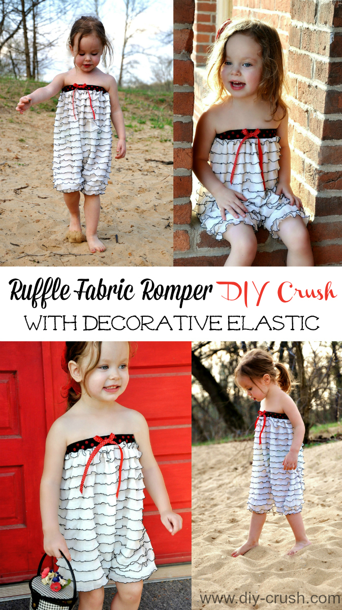 Make-a-cute-ruffle-fabric-romper-and-add-decorative-elastic-to-the-top-edge-instead-of-encased-elastic.-Check-out-this-quick-tutorial-on-DIY-Crush.
