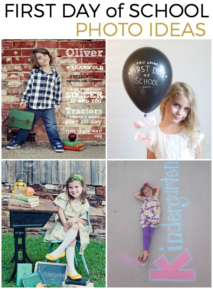 First Day of School Photo Props are such a great tradition to use at ...