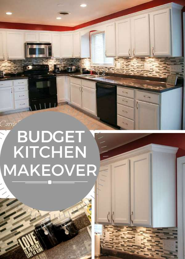 budget kitchen makeover carrie this home