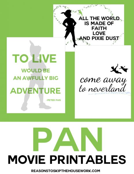 pan movie printable
