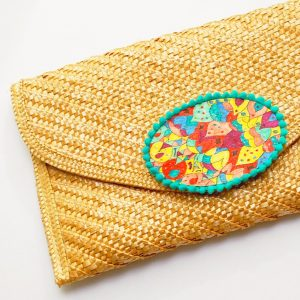 Embellished Clutch Purse - Tutorial