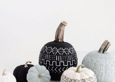 Pumpkin Carving Alternatives that are much less of a mess than traditional carving!