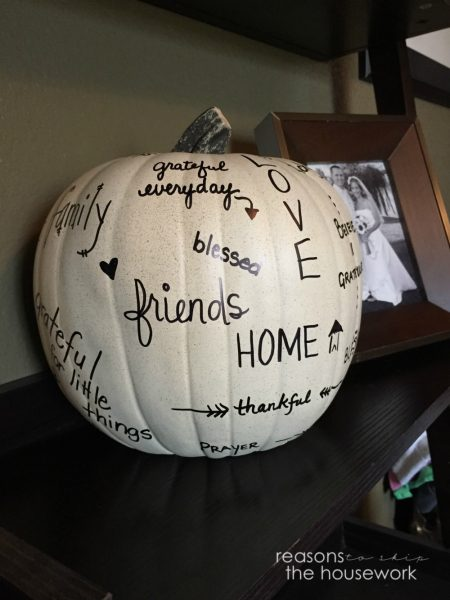 Word Art Pumpkin