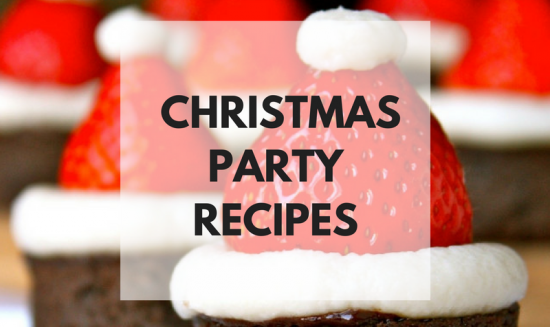 When you head out to your parties, make sure you have some great Christmas Party Food with you!