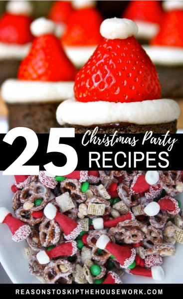 Christmas Party Food: When you head out to your holiday parties, make sure you have great Christmas Party Food with you!