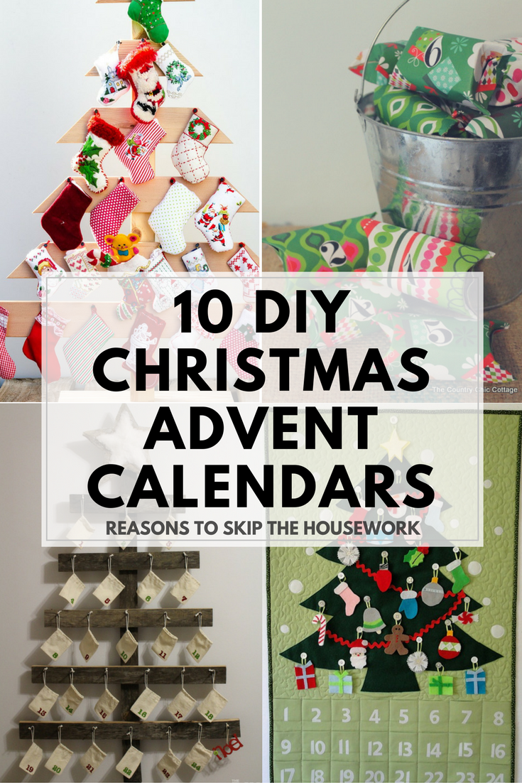 Diy Quote Calendar : Diy advent calendars to help count down christmas