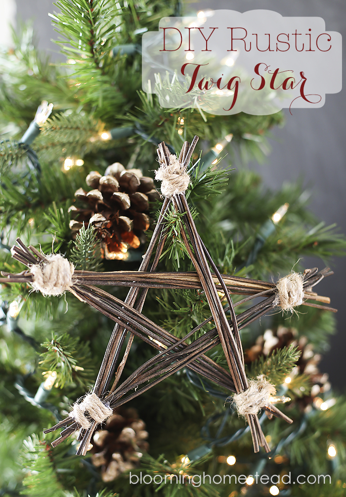 Twig Star: These creative handmade ornaments will add a special touch to your Christmas tree this season!